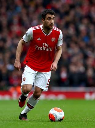 Arsenal's Sokratis Papastathopoulos (file pic).