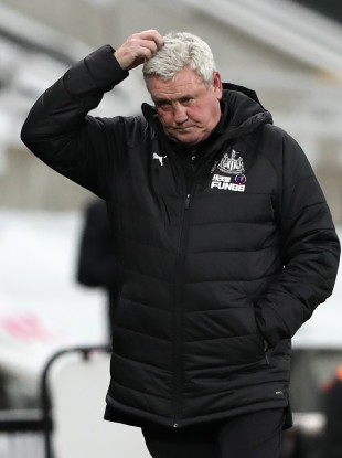 Newcastle United manager Steve Bruce (file pic).