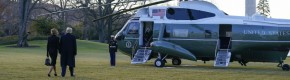 LIVE: Trump leaves Washington for final time as city prepares for Biden inauguration