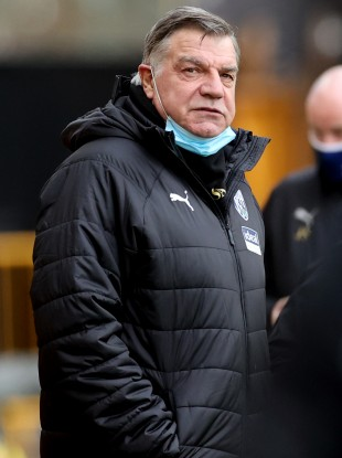 West Bromwich Albion manager Sam Allardyce (file pic).