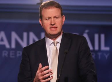 File image of TD Jim O'Callaghan.