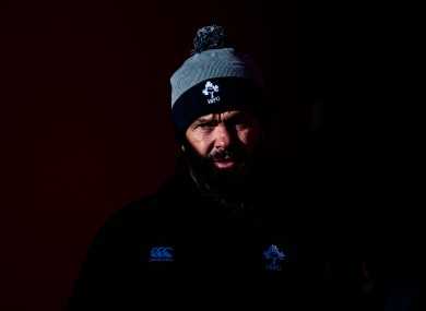 Farrell is into his second year in charge of Ireland.