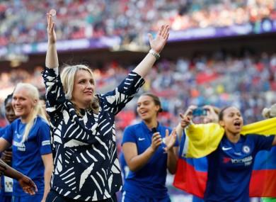 Chelsea manager Emma Hayes [file photo].