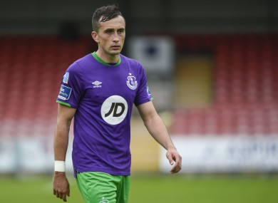 Aaron McEneff previously played for Shamrock Rovers.
