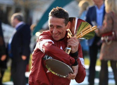 Davy Russell will not ride at this year's Cheltenham Festival.