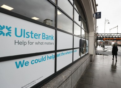 The Ulster Bank headquarters in Dublin