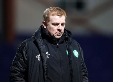 Neil Lennon has resigned as Celtic manager.