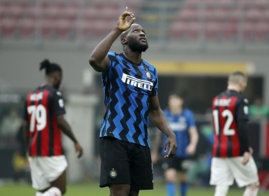 Reach for the sky: Inter are aiming high in Serie A.