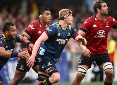 Jack Regan made his Super Rugby Aotearoa debut.