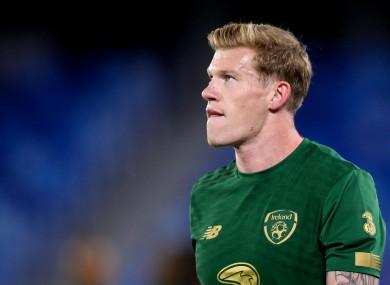 Ireland's James McClean.