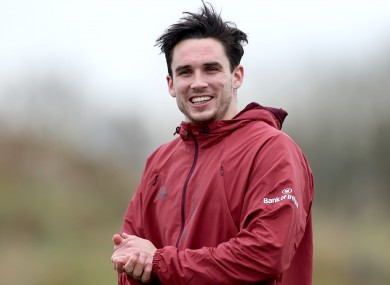 Carbery is on the Munster bench for tomorrow.
