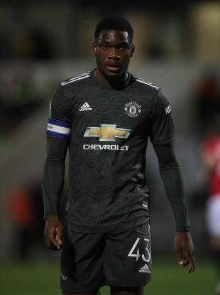 Manchester United's Teden Mengi (file pic).
