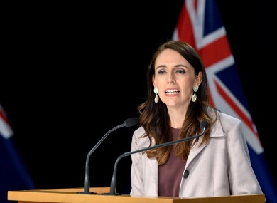 Prime Minister Jacinda Ardern made the announcement today