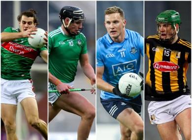 Oisin Mullin, Gearoid Hegarty, Ciaran Kilkenny and Eoin Cody.