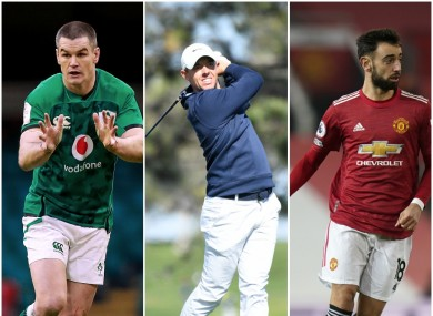Sexton, McIlroy and Fernandes all in action this weekend.