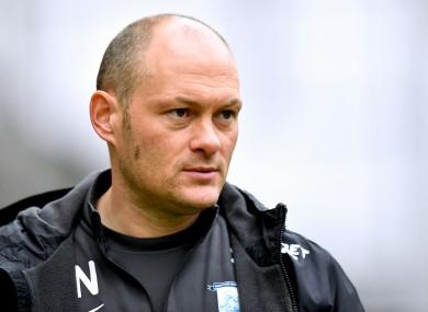 Preston North End manager Alex Neil (file pic).