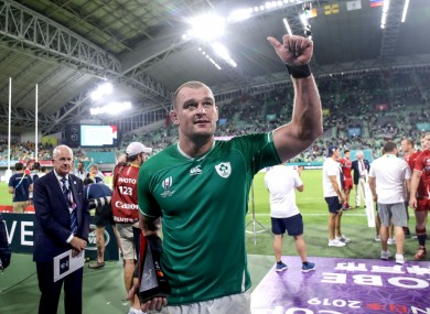 Ruddock hasn't played for Ireland since the 2019 World Cup.