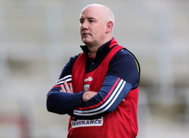 Cork football boss Ronan McCarthy.