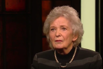 Former President of Ireland Mary Robinson speaking on RTÉ's Late Late Show