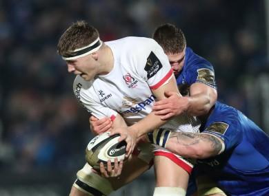 Former Ulster lock Jack Regan is set to make his Super Rugby debut.