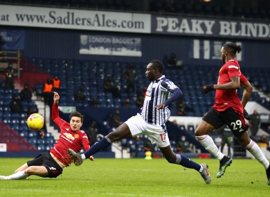 It finished 1-1 between the sides at The Hawthorns.