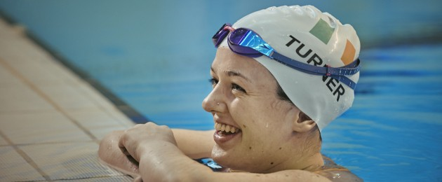 Nicole Turner launching Paralympics Ireland's new fundraising campaign 'The Next Level'.
