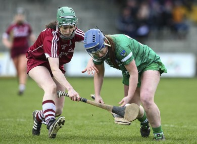 Galway's Siobhan Coen in action against Limerick in 2016.