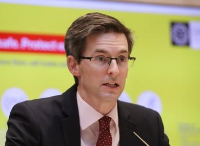 Dr Ronan Glynn, Deputy Chief Medical Officer (file photo)
