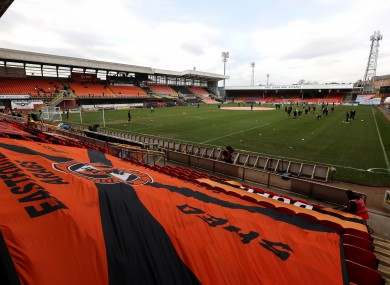 A view of Dundee United's Tannadice Park.