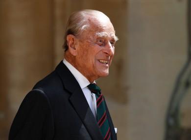 File image of Prince Philip.