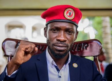 Uganda's main opposition leader Bobi Wine