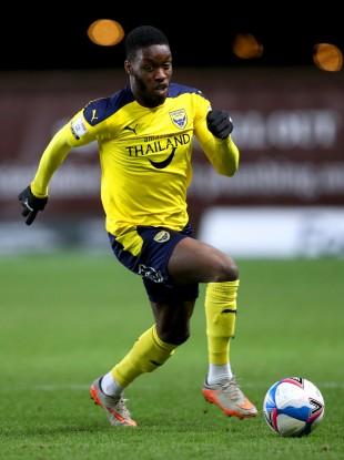 Oxford United's Olamide Shodipo.