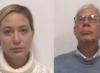 File image of Molly and Tom Martens.