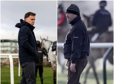 Trainers Henry De Bromhead and Gordon Elliott (file photo).