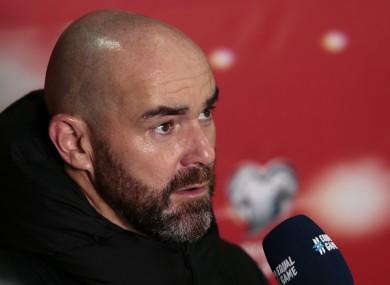 Qatar manager Felix Sanchez Bas.