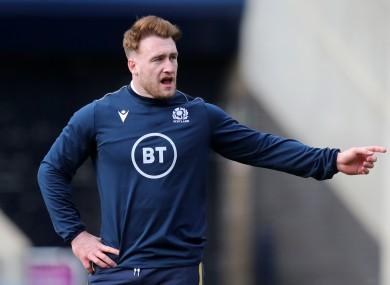 Scotland captain Stuart Hogg.