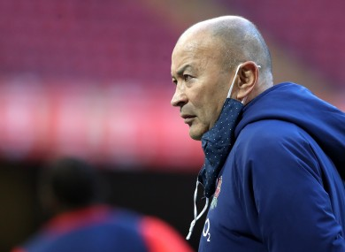 England head coach Eddie Jones (file pic).