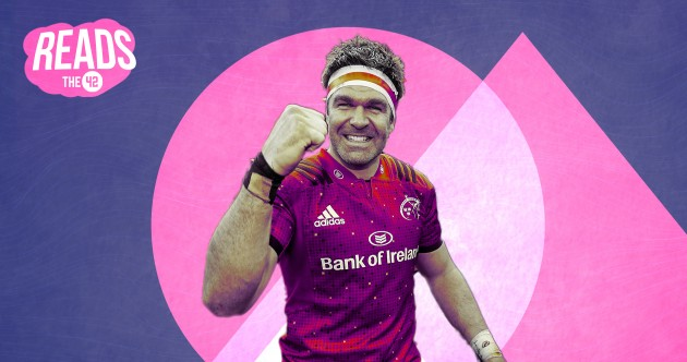Top two inches: How Billy Holland set out on his path into Munster's record books