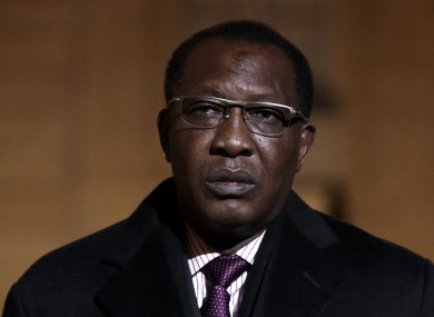Chad's President Idriss Deby Itno