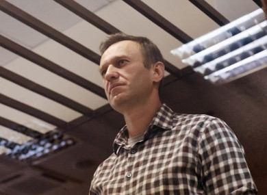Navalny was sentenced to two-and-a-half years on old fraud charges his supporters say were politically motivated
