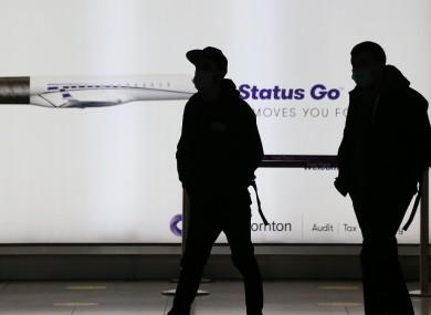 Passengers at Dublin Airport (file photo)