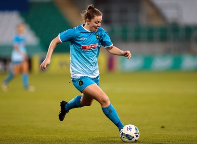 Eleanor Ryan-Doyle came off the bench to score a stunning free-kick.