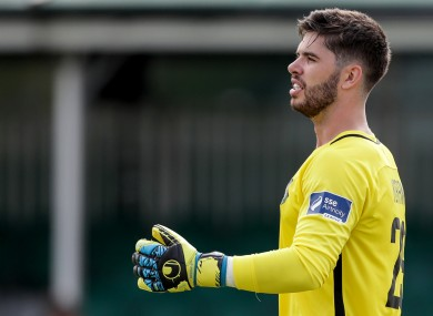 Evan Moran pictured playing for Bray in 2018.