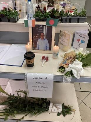 The book of condolence in Centra, Drumcondra