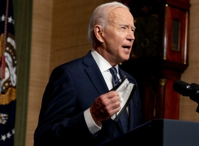 The Biden administration announced the sanctions today