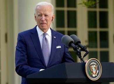 File image of Joe Biden.