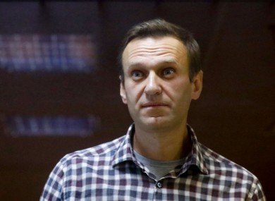 File image of Alexei Navalny.