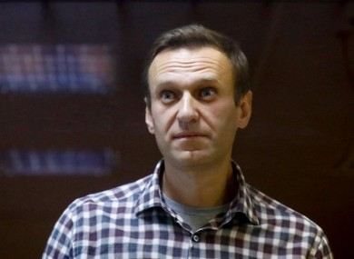 Prominent Kremlin critic Alexei Navalny
