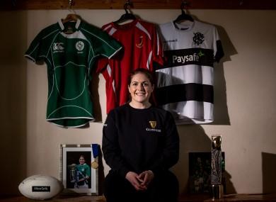 Former Ireland captain Fiona Coghlan.