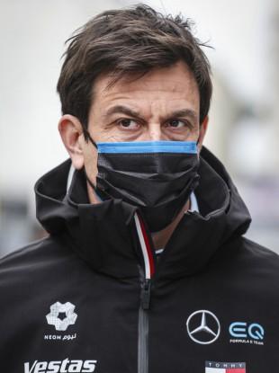 Mercedes team principal Toto Wolff.